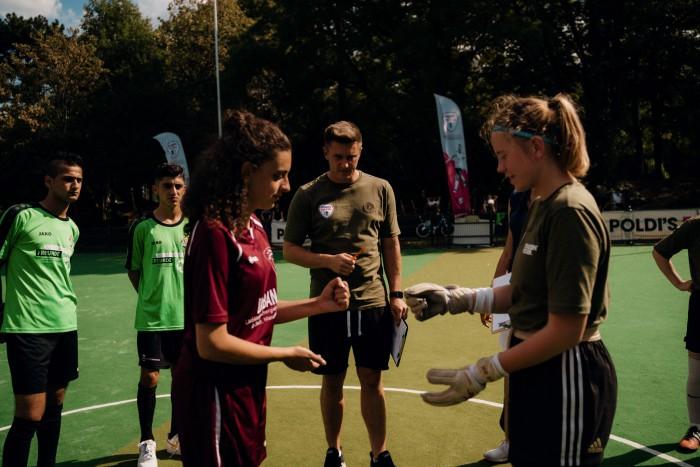 В рідному місті Лукаса Подольскі відбувся Саміт з Соціального Футболу за участі франківських підлітків